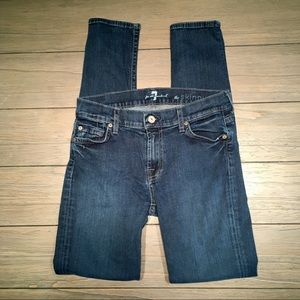7 for All Mankind Skinny Jeans EUC!